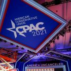 Hyatt calls hate symbols 'abhorrent' after CPAC stage compared to sign used by Nazis