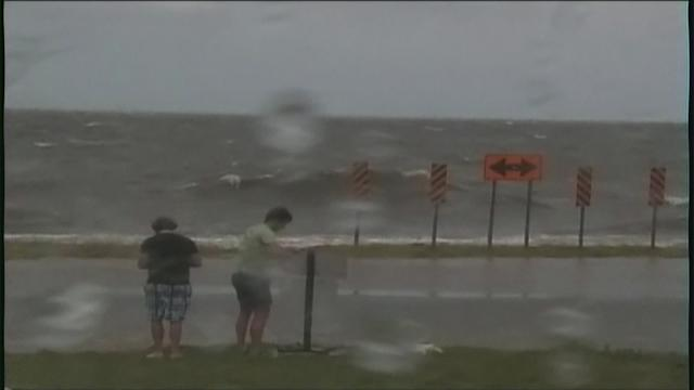 Hurricane Isaac makes landfall, New Orleans braces