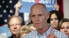 Scott Senate campaign calls opposition ad 'dangerous' in light of hurricane