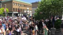 Protesters Rally in Ottawa in Response to Death of George Floyd