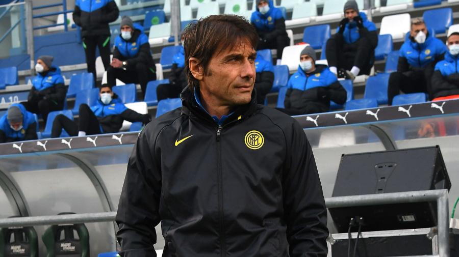"""Inter, Conte: """"Se giochiamo con l'attenzione giusta è difficile batterci. Hakimi ha ampi margini di miglioramento"""""""