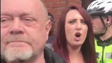 Britain First's Jayda Fransen Gets Chased Out Of Birmingham