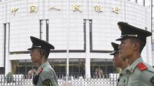 "Yanjing Brewery, China's official beer supplier, slides after chairman is detained for ""duty-related violation"""