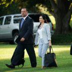Trump spokeswoman says Obama aides left mean notes in White House