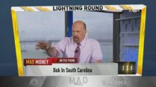 Cramer's lightning round: Autozone has the 'best buyback'...
