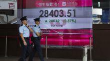 World shares rise as investors await Japan vote, Fed pick