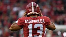 College Fantasy Football QB Draft Rankings: Tua Tagovailoa leads