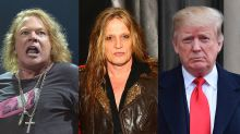 'When Axl Rose and Sebastian Bach lecture you on climate change, you've been righteously burned': Metalheads unite to school Trump over wildfire comments