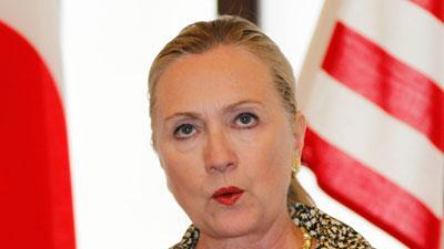 Clinton warns that Syrian state risks collapse