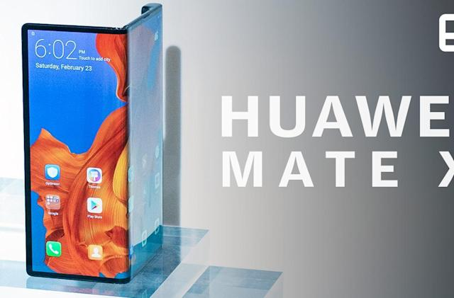 Huawei Mate X: A first look at Samsung's biggest foldable rival