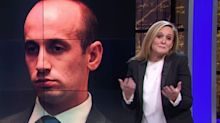 Samantha Bee Trolls Stephen Miller With Immigration-Themed Wedding Gift 'He'll Hate'