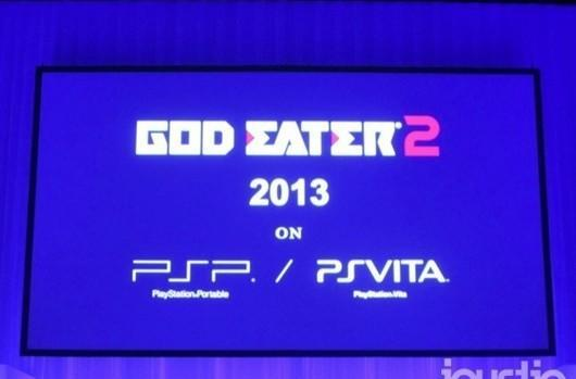 God Eater 2 dines with Vita and PSP in 2013