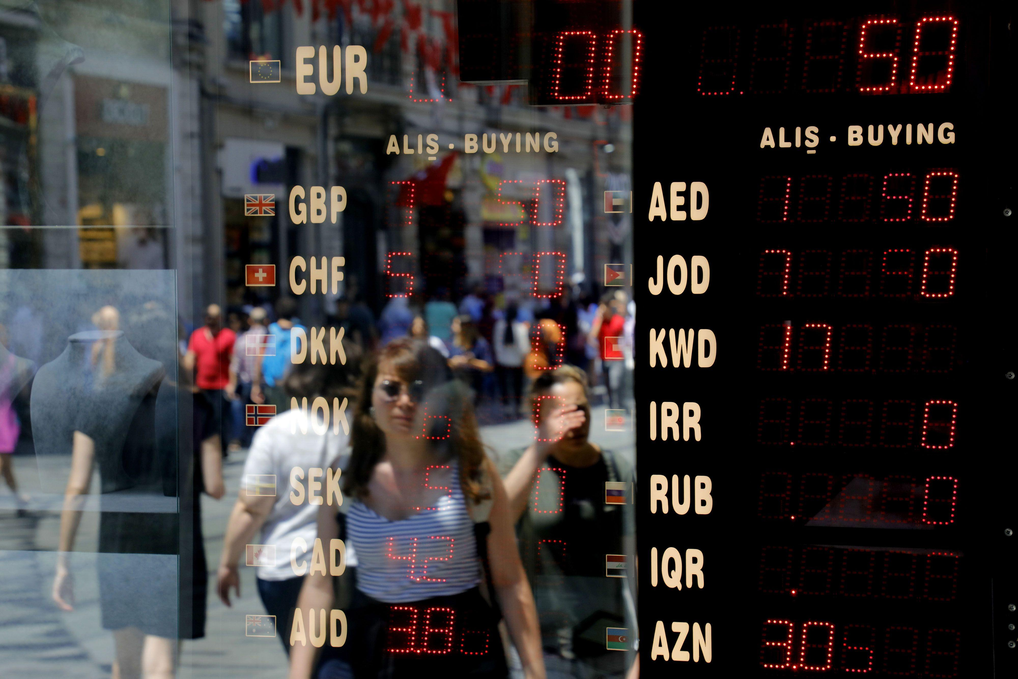 Turkey State Banks Prop Up Lira Ahead of Syria Incursion