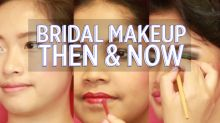 Then & Now: Bridal makeup in Singapore