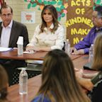 First Lady Melania Trump Makes Surprise Visit to Child Detention Center in Texas
