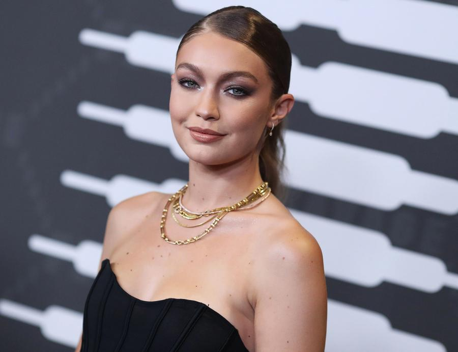 Yes, Gigi Hadid Has Colorful Pasta Art in Her Kitchen Cabinets