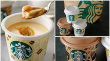 日本Starbucks推出迷你布甸 保暖紙袋超想要