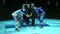Canucks honor Royal Canadian Navy