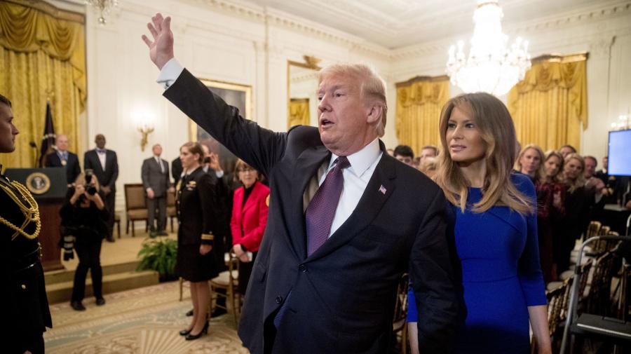 Melania Trump's unprecedented move shows her power