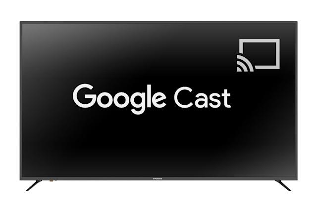 Polaroid's first smart TVs pack 4K and Google Cast