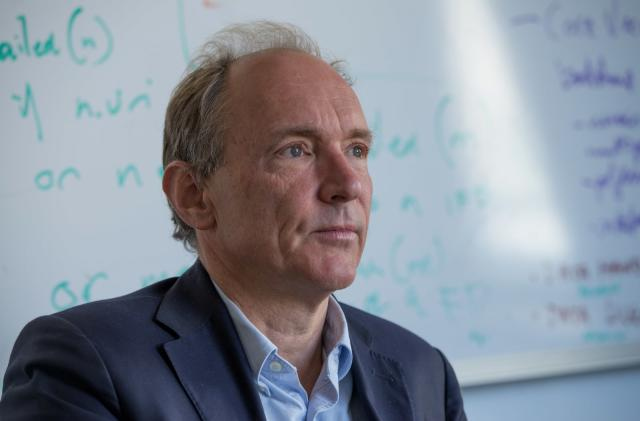 The father of the world wide web is one disappointed dad