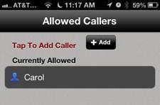 Call Bliss for iPhone a would-be alternative to Do Not Disturb