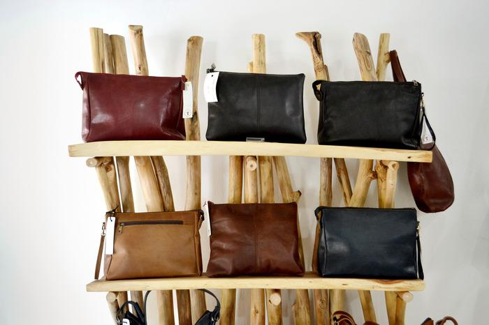 """Details about  /16/"""" Women/'s Vilage made Leather Backpack Purse Handbag Bucket tote shopping bags"""