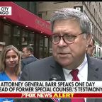Attorney General William Barr says Robert Mueller asked DOJ for guidance on testimony limits