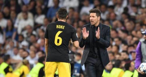 Foot - C1 - Atlético - Diego Simeone (Atlético de Madrid) : «Nous allons épuiser toutes nos chances»