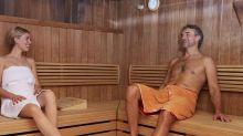 Saunagang ist genauso belastend wie Sport