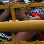 Some Members Of Migrant Caravan Cross Into Mexico