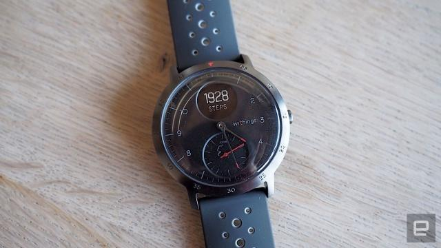 Save $60 on Withings' stylish Steel HR smartwatch