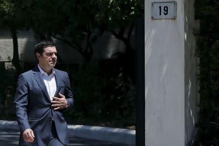 Greek Prime Minister Alexis Tsipras in Athens, Greece July 24, 2015. REUTERS/Alkis Konstantinidis