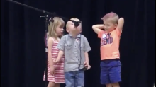 Kid steals this talent show when he interrupts song with 'Star Wars' imperial march