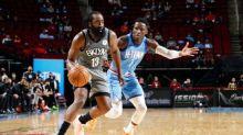 Nets' Harden triumphs in return to Houston, 76ers silence Jazz