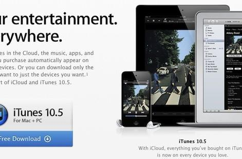 Apple releases iTunes 10.5 with iTunes in the Cloud
