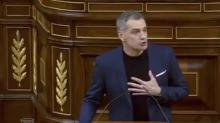 """Toni Cantó deja el Congreso al grito de """"¡Viva España!"""""""