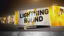 Cramer's lightning round: Watch out—momentum stocks are out of favor right now