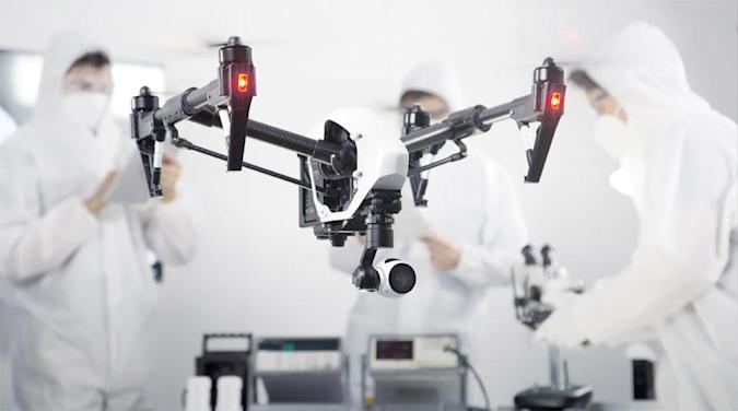 The DJI Inspire 1 is a $2,900 drone with a 4K camera