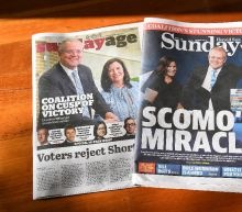 Australia's conservatives secure majority government: ABC