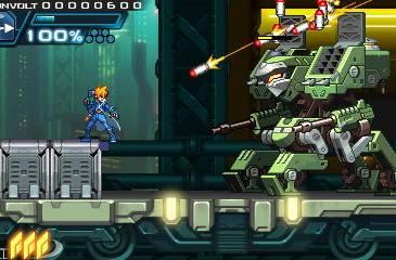 Azure Striker Gunvolt zaps 3DS eShop August 29