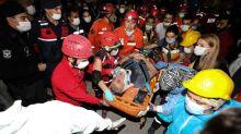 Terremoto en Turquía y Grecia: las impactantes imágenes de la destrucción causada por el sismo de magnitud 7 en el mar Egeo