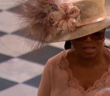 Oprah Winfrey Delightfully Surprised Everyone By Rolling Up to the Royal Wedding