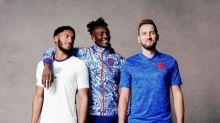 England kit: Marcus Rashford, Jadon Sancho and Harry Kane unveil new home and away Nike shirts