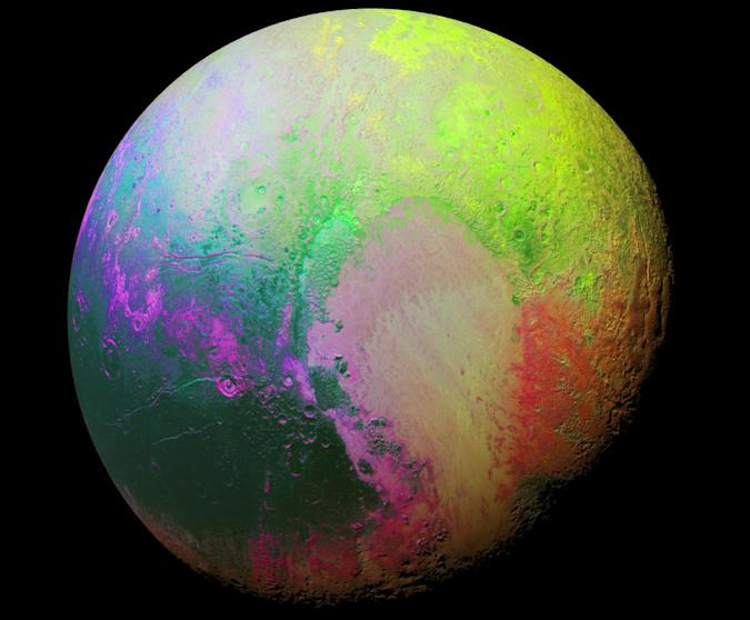 The Big Picture: A psychedelic portrait of Pluto by New Horizons