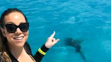 Mariah Carey Terrified After a Large Shark Invades Her Yacht Vacation: 'I'm Upset'