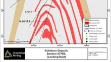 Anaconda Mining intersects 21.05 g/t over 11.5 metres and 17.41 g/t over 7.5 metres at the Goldboro Gold Project