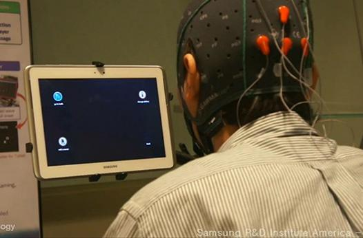 Samsung explores touchless tablet interaction with brainwave technology