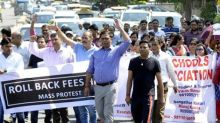 486 kids expelled as their parents protest against 'illegal fee hike'