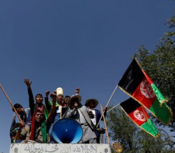 Afghan Hazara minority protest in Kabul over power line route